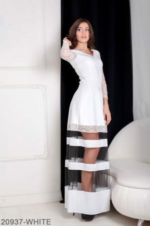 Женское платье Mishele 20937-WHITE