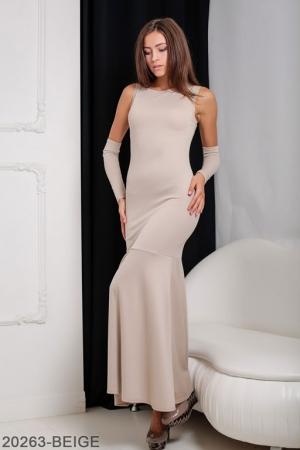 Женское платье Noren 20263-BEIGE