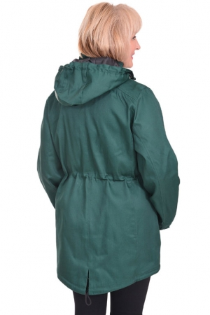Куртка женская Richmond Парка 5004/1 зеленая