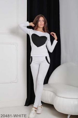 Женский спортивный костюм Williams 20481-WHITE