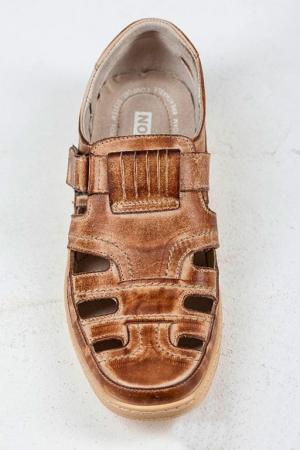 Мужские сандалии 030 бежевые