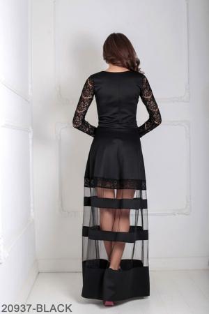 Женское платье Mishele 20937-BLACK