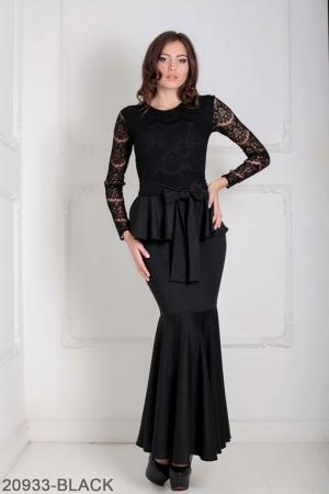 Женское платье Adelis 20933-BLACK
