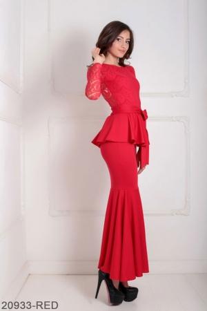 Женское платье Adelis 20933-RED