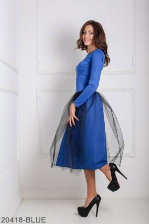 Женское платье Lashes 20418-BLUE