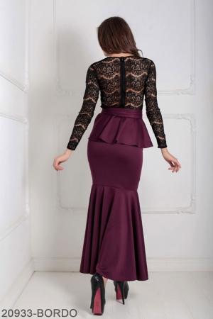 Женское платье Adelis 20933-BORDO