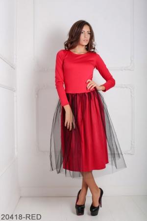 Женское платье Lashes 20418-RED