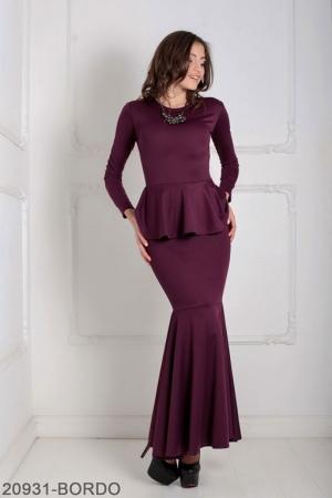 Женское платье Laura 20931-BORDO