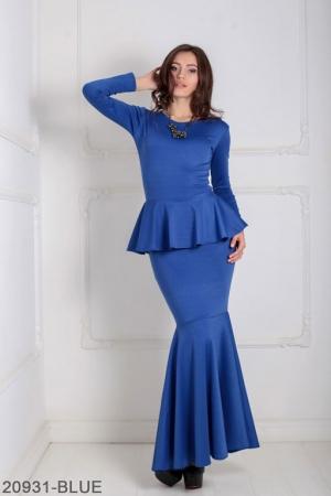 Женское платье Laura 20931-BLUE