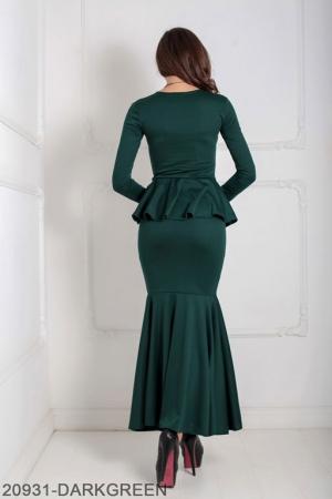 Женское платье Laura 20931-DARKGREEN