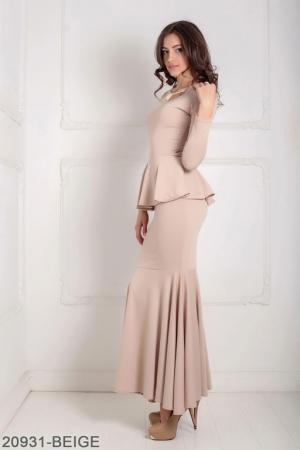 Женское платье Laura 20931-BEIGE