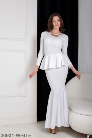 Женское платье Laura 20931-WHITE