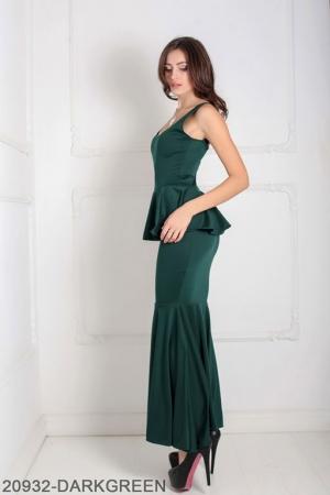 Женское платье Andrea 20932-DARKGREEN