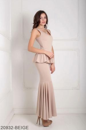 Женское платье Andrea 20932-BEIGE