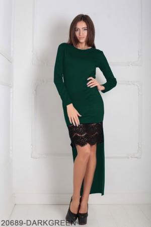 Женское платье Bristol 20689-DARKGREEN