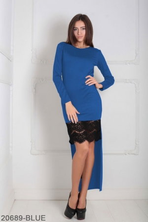 Женское платье Bristol 20689-BLUE
