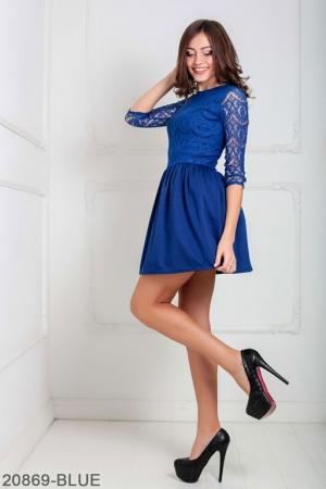Женское платье Gledis 20869-BLUE