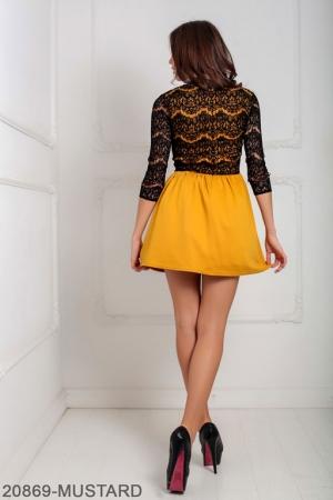 Женское платье Gledis 20869-MUSTARD