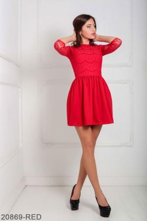 Женское платье Gledis 20869-RED