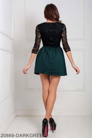 Женское платье Gledis 20869-DARKGREEN