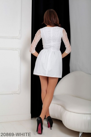 Женское платье Gledis 20869-WHITE