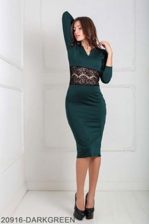 Женское платье Meredith 20916-DARKGREEN