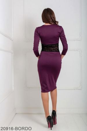 Женское платье Meredith 20916-BORDO