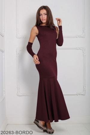 Женское платье Noren 20263-BORDO