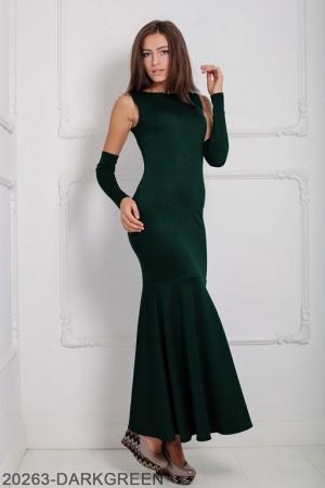 Женское платье Noren 20263-DARKGREEN