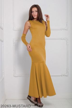 Женское платье Noren 20263-MUSTARD