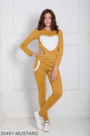 Женский спортивный костюм Williams 20481-MUSTARD