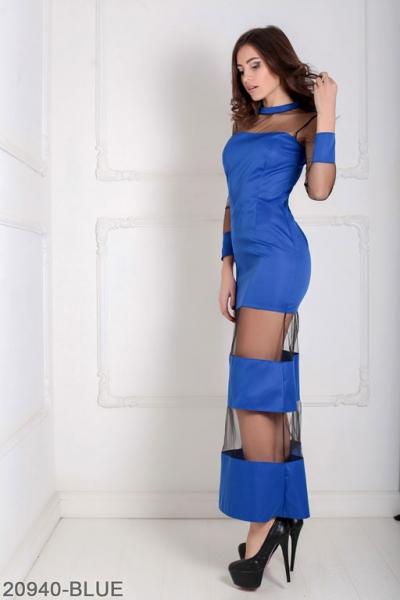 Женское платье Eleona 20940-BLUE