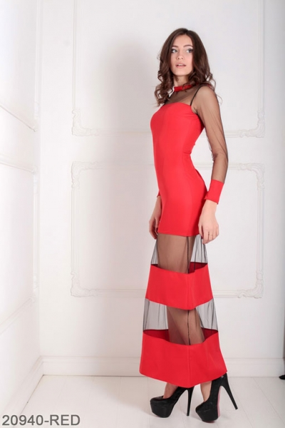 Женское платье Eleona 20940-RED