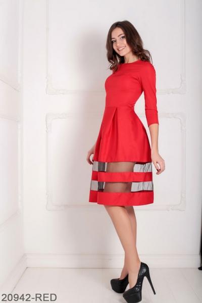 Женское платье Tionna 20942-RED