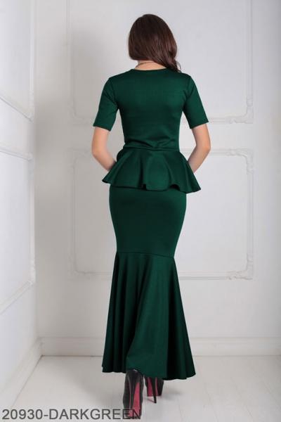 Женское платье Amalia 20930-DARKGREEN