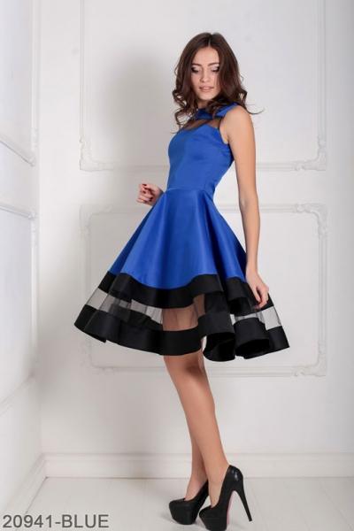 Женское платье Valentine 20941-BLUE