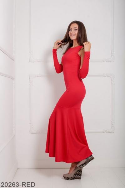 Женское платье Noren 20263-RED