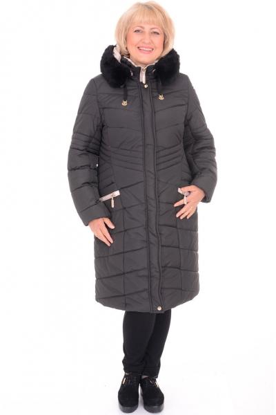 Пальто женское Amazonka 20004 черное