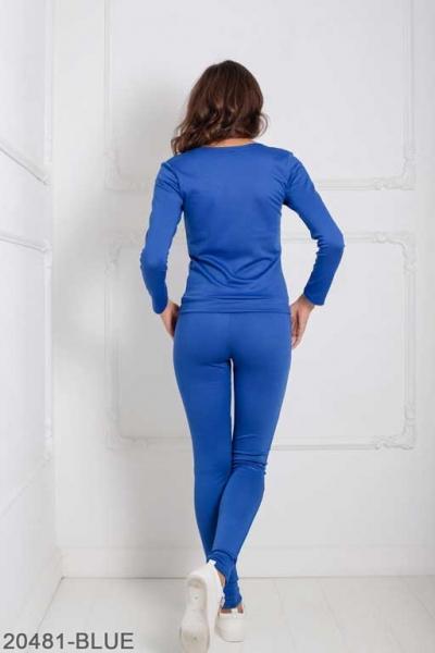 Женский спортивный костюм Williams 20481-BLUE