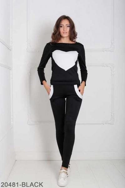 Женский спортивный костюм Williams 20481-BLACK