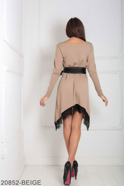 Женское платье Stima 20852-BEIGE
