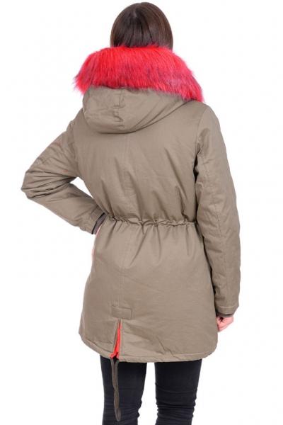 Куртка-парка  Pshenichnaya 8113