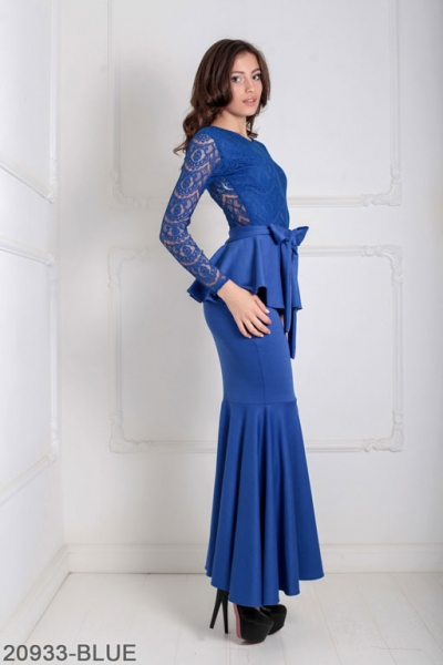 Женское платье Adelis 20933-BLUE