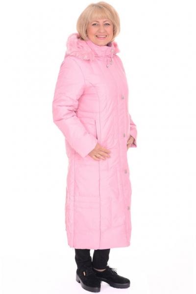 Пальто женское Red Ocean 21018 розовое