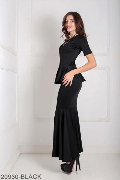 Женское платье Amalia 20930-BLACK
