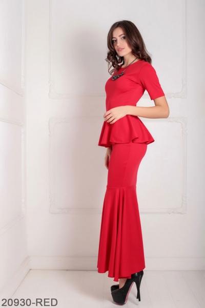 Женское платье Amalia 20930-RED