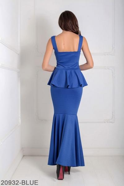 Женское платье Andrea 20932-BLUE