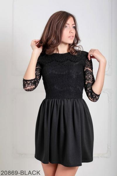 Женское платье Gledis 20869-BLACK