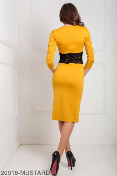 Женское платье Meredith 20916-MUSTARD