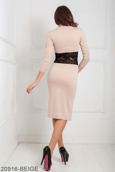 Женское платье Meredith 20916-BEIGE